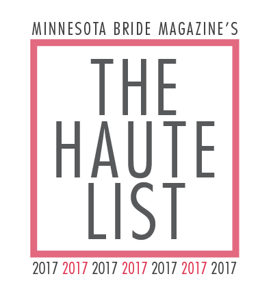 Minnesota Bride Magazine's The Haute List