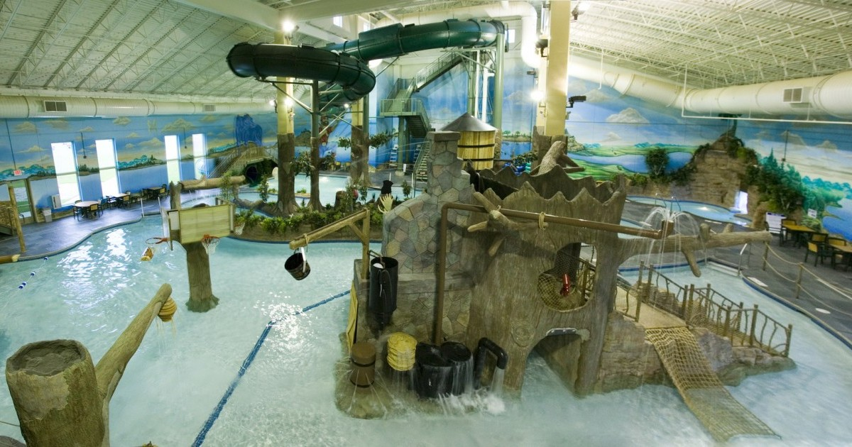 Waterpark Recreation Arrowwood Lodge At Brainerd Lakes Baxter Minnesota